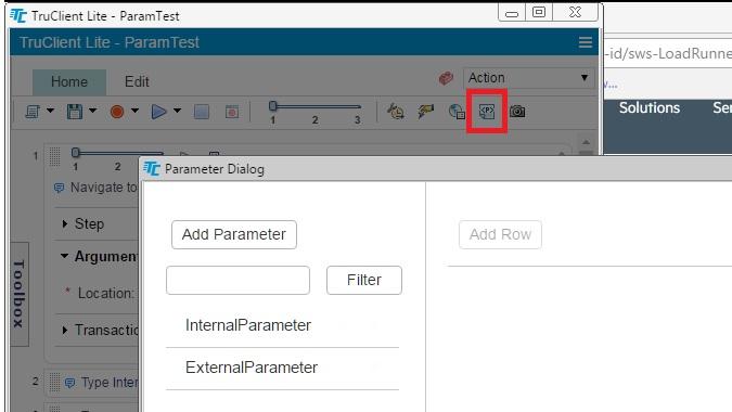Tru Client Parameters